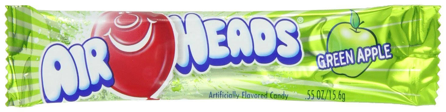 Airheads Candy - Green Apple