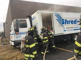 Valhalla Extinguishes Shredder Truck Fire