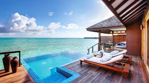 100 Maldives Infinity Pool Deluxe Water Villa Luxury Villas