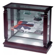 small glass curio cabinet display foter