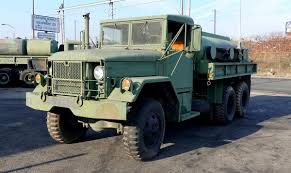 100 Tank Truck AM General M49A2C Fuel Service Equipped With White LDT