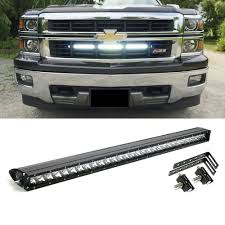 100 Chevy Truck Parts And Accessories 150W 30 CREE LED Light Bar W Behind Grille Bracket Wiring For