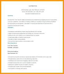 Elementary Teacher Resume Sample New Free Assistant Example Grade