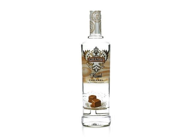 Smirnoff Vodka, Kissed Caramel - 750 ml
