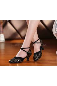 black gold leopard heels pumps with buckle latin party dance shoes
