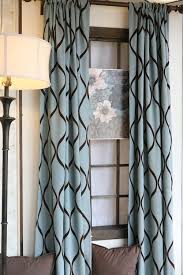 Nicole Miller Home Two Curtain Panels by Curtain Panels In Turquoise And Brown Curtain Panels Turquoise