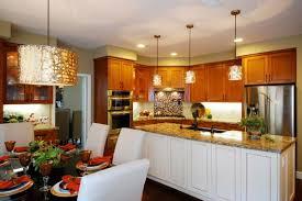 almost orange pendant light in a modern kitchen homelilys decor