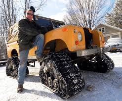 Treaded Truck A Beast In The Snow | The Daily Gazette 68 Best Crazy About H2s Images On Pinterest Dream Cars Hummer Mattracks Rubber Track Cversions N Go Youtube American Truck Subaru Impreza Wrx Stock 20 Liter 12 Tire Treads From The 2015 Sema Show Photo Image Gallery Custom Tracks Right Systems Int Suzuki Samurai Snow Vehicle Lego Legos And Technic Tank For Trucks Powertrack Jeep 4x4 Manufacturer Awd Cars System Commontreadsmagazine Part 2