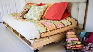 smart diy pallet bed ideas youtube