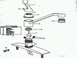 Tub Drain Assembly Diagram by 100 Moen One Handle Kitchen Faucet Repair Moen 1225 Kitchen