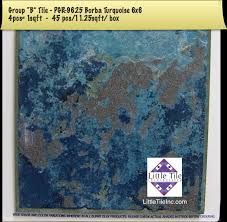 6x6 Glass Pool Tile by Little Tile Inc Online Source To Verona Series Pool Tiles