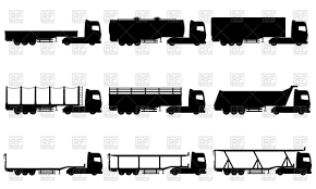 Truck Semi Trailer Silhouettes Royalty Free Vector Clip Art Image ... Unique Semi Truck Clipart Collection Digital Black And White Panda Free Images Tanker Cliparts Zone 5437 Stock Illustrations Royalty Grill Speeding Big Rig In The Highway Vector Illustration Of Black And White Semi Truck Clipart Icon Stock Vector Art 678052584 Istock Clipartmansioncom