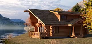 Pioneer Log Homes Floor Plan The Anchorage
