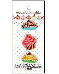 sweet delights 3d button collection buttons galore