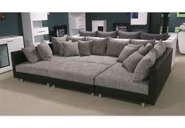 wohnlandschaft ecksofa sofa mit hocker