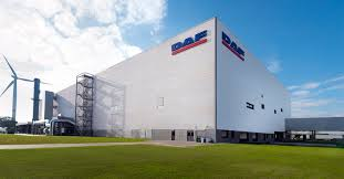 100 Lawn Trucks DAF Opens State Of The Art New Cab Paint Facility In Westerlo DAF