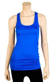 womens 100 cotton racerback tank top basic cami solid tee shirt