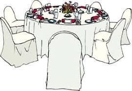 Wedding Reception Table Clipart