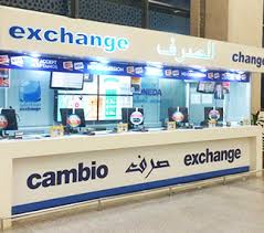 bureau de changes change de devises à l aéroport de tanger global exchange