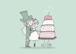 Wedding Cake clipart cake cutting