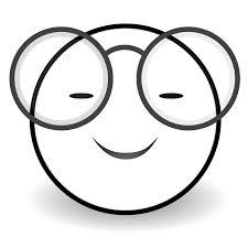 Jpg Stock Smiley Face Clip Art Panda Free Vector Black And White Emoji
