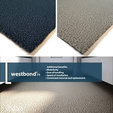 Image Is Loading FORBO Westbond CARPET TILES Oxford Sorbet Pattern PVC