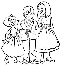 Obrasmisericordiabn Dibujos Para Colorear De Boda Infantiles