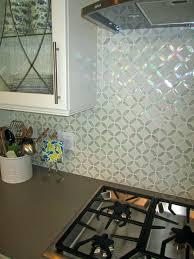 crushed glass tile backsplash kitchen adorable glass kitchen grey