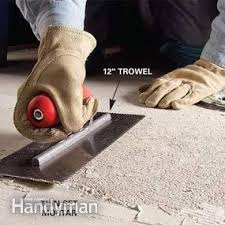 how to remove tile from a concrete floor family handyman