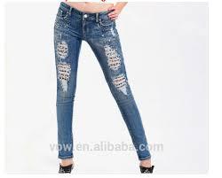 Latest Design Fashion Women Jeansown Customize Hot Sexy Girls Jeans High Taste Designer