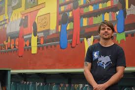 Big Ang Mural Unveiling by Artist Calls Lilburn Library Mural U0027gratifying U0027 News