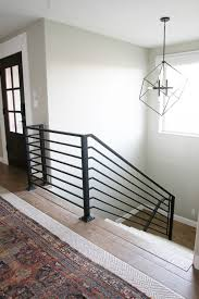 All The Details On Our New Horizontal Stair Railing! | Stair ... Best 25 Interior Railings Ideas On Pinterest Stairs Stair Case Banister Banisters Staircase Model Indoor Railings Unique Railing Styles Latest Elegant Ideas Uk Design With High Wood Handrail Timber This Staircase Uses High Quality Wrought Iron Balusters To Create A Mustsee Fixer Upper Reno Rustic Barn Doors And A Go Unusual Pink 19th Century Balcony With Wooden In Light Fittings In Large Modern Spanish Hall Glass Home By Larizza Contemporary Stairs Floating
