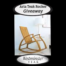 Aria Teak Rocker GIVEAWAY! - Seasonal Memories Rocking Chair In Hove East Sussex Gumtree Outdoor Wings Set Of 2 Natural Snk Liberty Sling By Arkel1 Antique Rush Seat And Ladder Back Rocking Chair With Turned Wings Orgetown Rocking Chair How To Reupholster A Wingback A Bystep Tutorial Guide French Distressed Gray Painted Gold Seating Ideas Creative Mom Rattan Fniture Tables Chairs On Carousell Kare Design Life Is Style 142018 Abitare Living Issuu English Childs