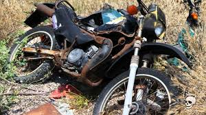Abandoned Motorcycle. Old Abandoned Moto - YouTube 100 Year Old Indian Whats In The Barn Youtube Bmw R65 Scrambler By Delux Motorcycles Bikebound Find Cars Vehicles Ebay Forgotten Junkyard Found Abandoned Rusty A Round Barn 87 Honda Goldwing Aspencade My Wing 1124 Best Vintage Wheels Images On Pinterest Motorcycles 1949 Peugeot Model 156 Classic Motorcycle 1940 Knucklehead Find Best 25 Finds Ideas Cars Barnfind Deuce Roadster Hot Rod Network Sold 1929 Monet Goyon 250cc Type At French Classic Vintage 8 Nglost Brough Rotting Are Up For Sale Wired