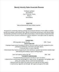 Sales Associates Resume 8 Associate Templates Retail Samples Free
