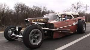 57 Chevy Wagon RAT ROD
