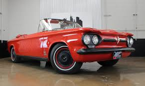 100 Corvair Truck For Sale 1962 Chevrolet Monza Turbo Convertible Chicago Car Club