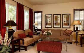 decorating living room with warm colours house decor picture