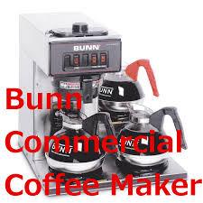 Bunn Pourover Commercial Coffee Maker