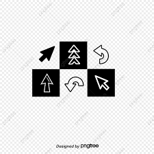 Flecha Del Raton Raton Flecha Pequeña Mano PNG Y Vector