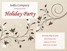 Floral Background Simple Invitation