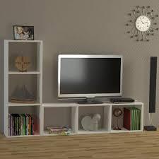 anbauwand wohnzimmerwand tv lowboard wohnwand weiß natalie