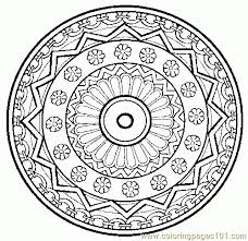 Free Download Mandala Coloring Pages Online On Printable Radiotempo