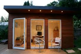 Shedworking Home fices in Backyard Sheds fer Focus Space