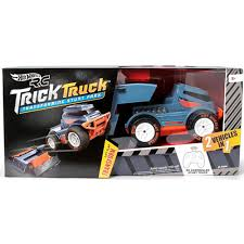 Hot Wheels R/C Trick Truck Transforming Stunt Park Vehicle - Walmart.com