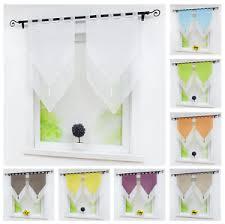 details zu scheibengardine modern 2 stück bistrogardinen weiß gardinen vorhänge wohnzimmer
