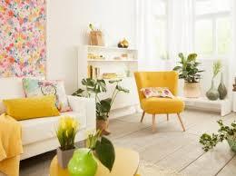 welche farbe passt zu senfgelb ideen mit gelbtönen otto