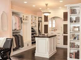 furniture inspiring walk in closet design using white u shaped