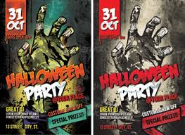 Free Halloween Flyer Templates by 15 More Horror Flyer Templates For Halloween Party