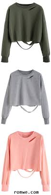 Best 25 Cut sweatshirts ideas on Pinterest